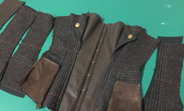 Tweed Corset