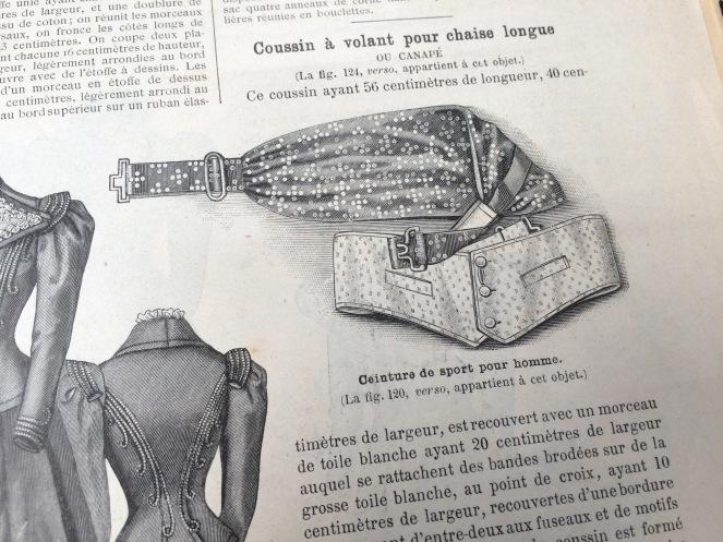La Mode Illustreé Men's Waist