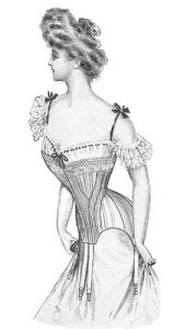 Truly Victorian 1903 Corset Pattern