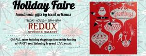 Banner Holiday Fair 2015