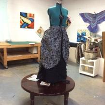 full view of the skirt (in progress)