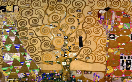 Gustav Klimt's Tree of Life